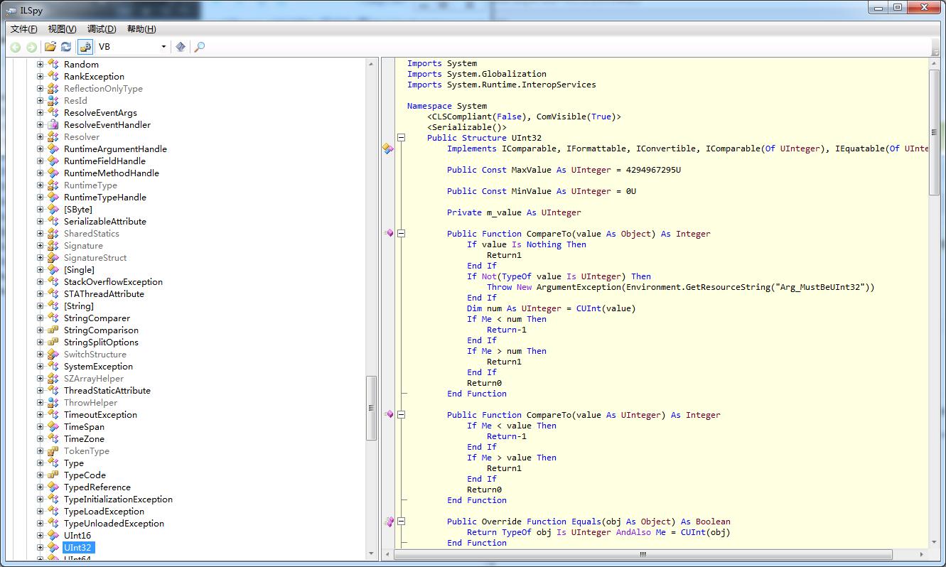 ILSpy 反编译器源代码